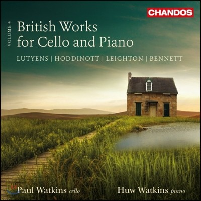 Paul & Huw Watkins 영국의 첼로와 피아노를 위한 작품 4집 (British Works for Cello and Piano, Vol. 4)