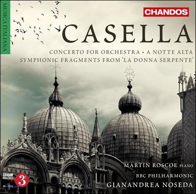 Gianandrea Noseda 알프레도 카셀라: 관현악 작품 2집 - 오케스트라를 위한 협주곡 (Alfredo Casella: Concerto for Orchestra, Op. 61)