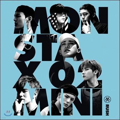 몬스타엑스 (MONSTA X) - 미니앨범 2집 : Rush [Secret 버전]