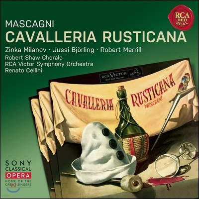 Renato Cellini 마스카니: 카발레리아 루스티카나 (Pietro Mascagni: Cavalleria rusticana)