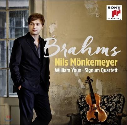 윤홍천 / Nils Monkemeyer 브람스: 클라리넷 소나타 [비올라 편곡 버전] (Brahms: Viola Soantas, Hungarian Dance)