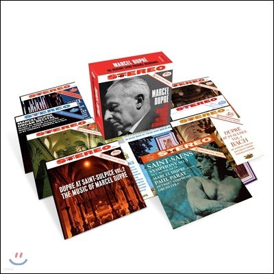 Marcel Dupre 마르셀 뒤프레 머큐리 녹음 전집 (The Mercury Living Presence Recordings)