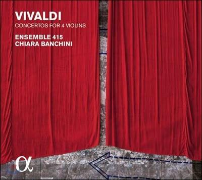 Ensemble 415 비발디: 바이올린 협주곡집 (Vivaldi: Concertos for Four Violins, Op.3)