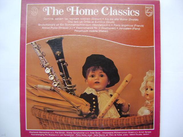 LP(엘피 레코드) The Home Classics 9 - 어머님이 가르쳐 주신 노래 / 결혼행진곡 / 천사의 양식 외