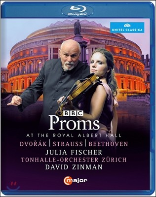 David Zinman / Julia Fischer 2014년 BBC 프롬스 (BBC Proms At The Royal Albert Hall)