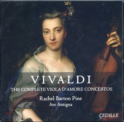 Rachel Barton Pine 비발디: 비올라 다모레 협주곡 전곡 (Vivaldi: Complete Viola D'amore Concertos)