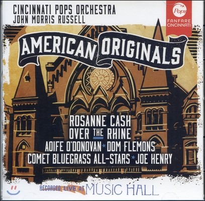 Cincinnati Pops Orchestra 미국 민요 - 오! 수재너, 나의 켄터키 옛집, 어메이징 그레이스 등 (American Originals)
