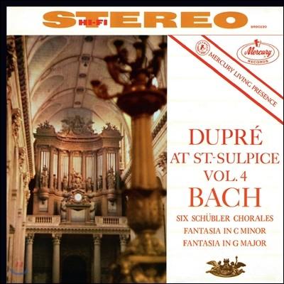 Marcel Dupre 생쉴피스 4집 - 바흐: 코랄, 환상곡 (Saint-Sulpice Vol.4 - Bach: Chorales, Fantasias)