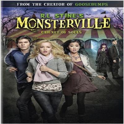 R.L. Stine's Monsterville: Cabinet Of Souls (R.L. 스타인스 몬스터빌)(지역코드1)(DVD)