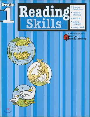 Reading Skills: Grade 1 (Flash Kids Harcourt Family Learning)