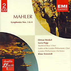 Mahler : Symphony No.3 & 4 : Tennstedt
