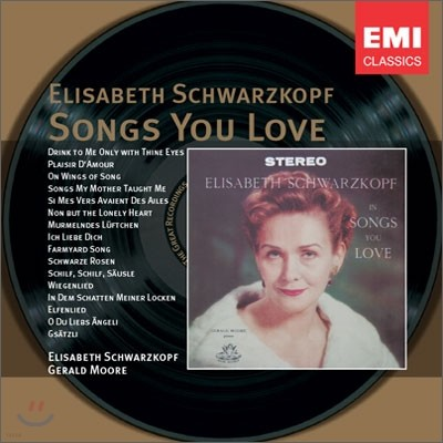 Elisabeth Schwarzkopf - Songs You Love