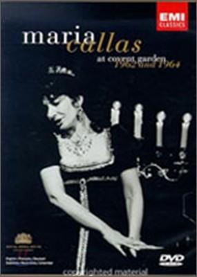 마리아 칼라스 - 코벤트 가든 실황 (Maria Callas - At Covent Garden 1962 And 1964)