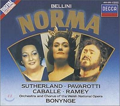 Bellini : Norma : Bonynge