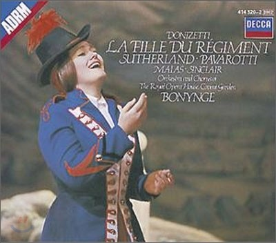 Richard Bonynge 도니제티: 연대의 딸 (Donizetti: La Fille du Regiment)