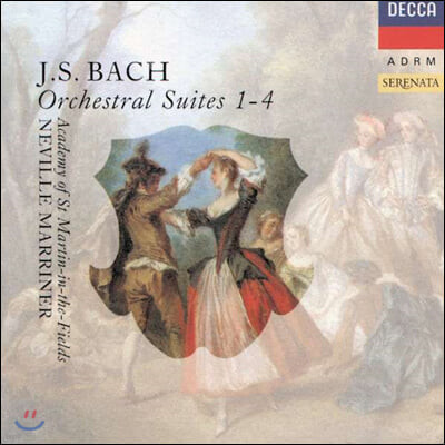 Neville Marriner 바흐: 관현악 모음곡 전곡 (Bach: Orchestral Suites)