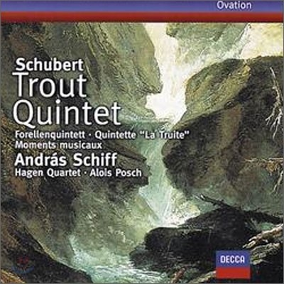 Andras Schiff / Hagen Quartett 슈베르트: 송어 오중주곡 (Schubert : Trout Quintetㆍ6 Moments musicaux)