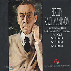 라흐마니노프가 연주하는 그의 협주곡 (Rachmaninov Plays Rachmaninov The Complete Piano Concertos)