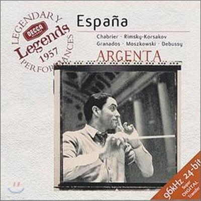 샤브리에 : 에스파냐 - 아르헨타