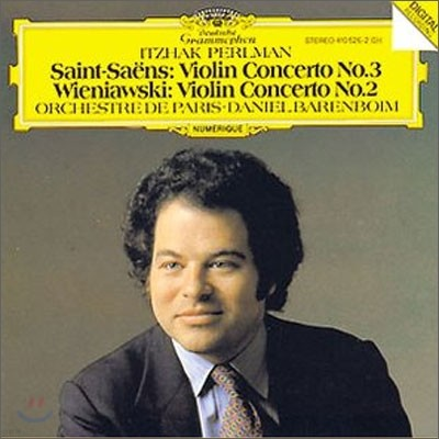 Itzhak Perlman 생상스: 바이올린 협주곡 3번 / 비에냐프스키: 바이올린 협주곡 2번 (Saint-Saens / Wieniawski: Violin Concerto)