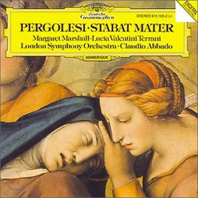 Claudio Abbado 페르골레지 : 스타바트 마테르 (Pergolesi : Stabat Mater) 클라우디오 아바도