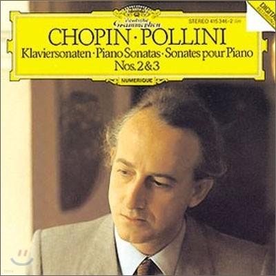 Maurizio Pollini 쇼팽: 피아노 소나타 2번, 3번 - 폴리니 (Chopin: Piano Sonatas Nos.2 & 3)
