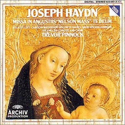 Trevor Pinnock 하이든: 넬슨 미사 / 테 데움 (Haydn: Nelson Mass, Te Deum) 트레버 피노크