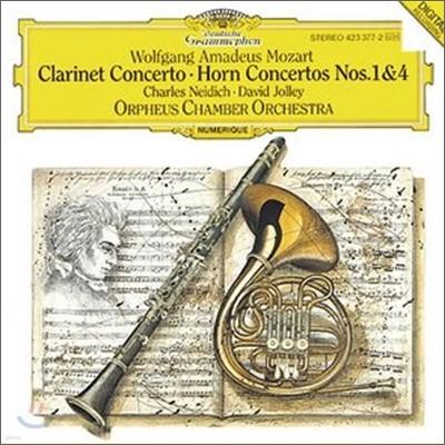 Mozart : Clarinet Concerto No.1 KV 412·No.4 KV 495 : Orpheus Chamber Orchestra