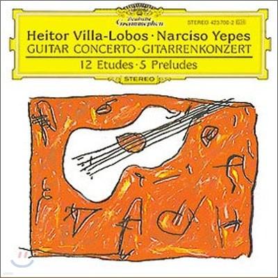 빌라-로보스 : 기타 협주곡 - 예페스, 나바로