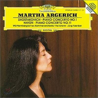 Martha Argerich 쇼스타코비치 / 하이든: 피아노 협주곡 - 마르타 아르헤리치 (Shostakovich / Haydn: Piano Concerto)