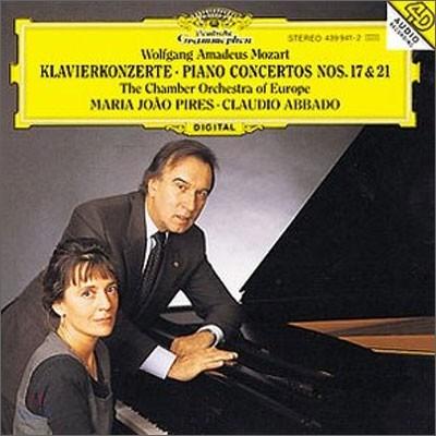 모차르트 : 피아노 협주곡 17ㆍ21번 - 피레스, 아바도