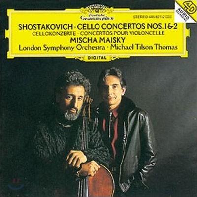 쇼스타코비치 : 첼로 협주곡 1ㆍ2번 - 마이스키, 토마스