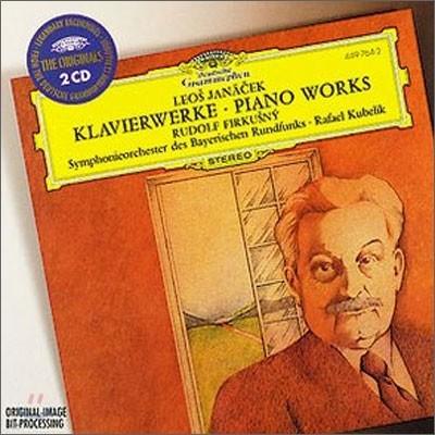 Rudolf Firkusny 야나체크: 피아노 작품집 - 카프리치오, 콘체르티노 (Janacek : Piano Works)