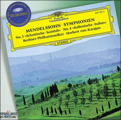 Herbert Von Karajan 멘델스존: 교향곡 3, 4번 (Mendelssohn: Symphony Op. 56, 90)