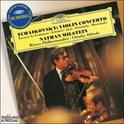Nathan Milstein 차이코프스키: 바이올린 협주곡, 앙코르 작품들 (Tchaikovsky: Violin Concerto)