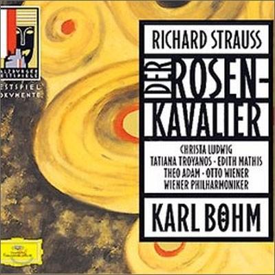 Karl Bohm / Christa Ludwig 슈트라우스: 장미의 기사 (R. Strauss : Der Rosenkavalier) 칼 뵘, 크리스타 루드비히, 테오 아담