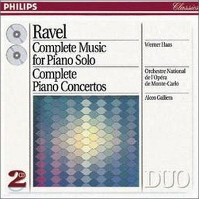 Ravel: Complete Music for Piano SoloㆍPiano Concertos : HaasㆍGalliera
