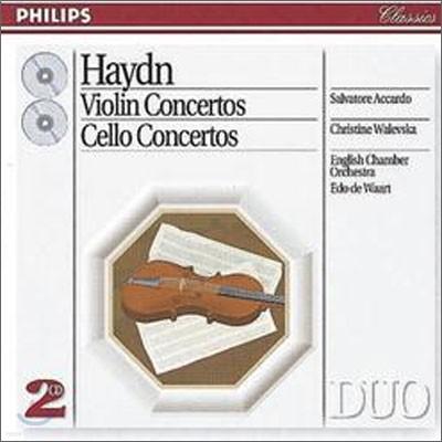 Haydn: Violin ConcertosㆍCello Concertos : Waart