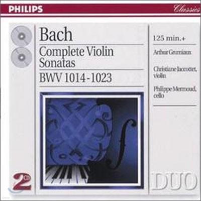 Arthur Grumiaux 바흐: 바이올린 소나타 전곡집 (Bach : Complete Violin Sonatas)