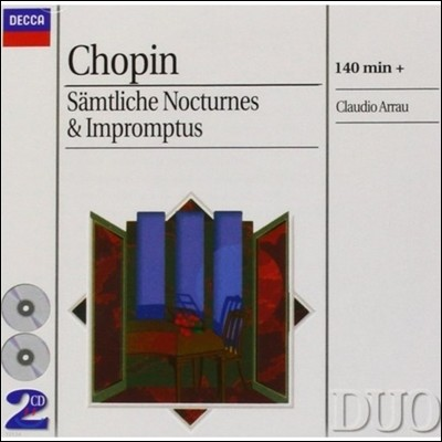 Claudio Arrau 쇼팽: 녹턴 (Frederic Chopin: Nocturne)