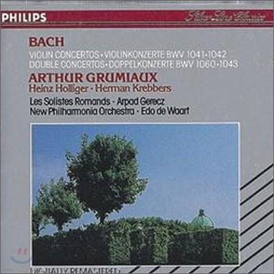 Bach : Violin ConcertosㆍDouble Concertos : GrumiauㆍKrebbers