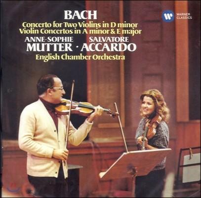 Anne-Sophie Mutter / Salvatore Accardo 바흐: 바이올린 협주곡 1번 2번, 두 대의 바이올린을 위한 협주곡 (Bach: Violin Concertos BWV 1041 1042 1043))