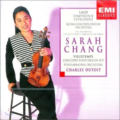 랄로 : 스페인 교향곡 / 비외탕 : 바이올린 협주곡 5번 - 장영주