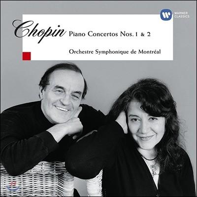 Martha Argerich 쇼팽: 피아노 협주곡 1번, 2번 (Chopin: Piano Concertos Nos. 1 & 2) 마르타 아르헤리치, 샤를르 뒤트와