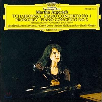 Martha Argerich 차이코프스키 / 프로코피에프: 피아노 협주곡 (Tchaikovsky: Piano Concerto No.1 / Prokofiev: Piano Concerto No.3)