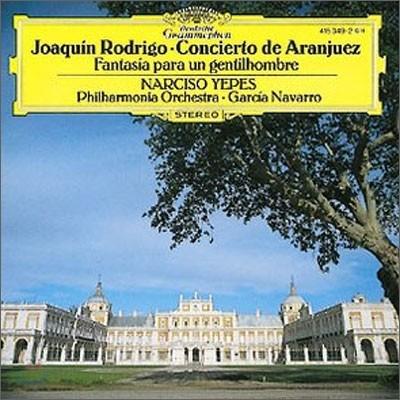Narciso Yepes 로드리고: 아랑훼즈 협주곡 - 예페스, 나바로 (Rodrigo : Concierto de Aranjuez)
