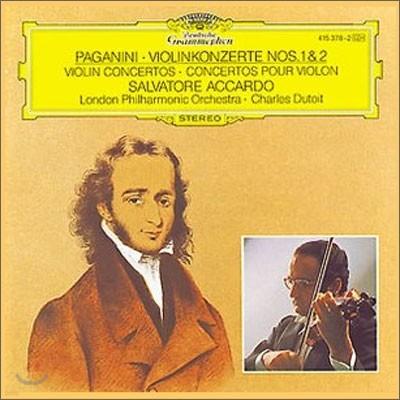 Salvatore Accardo 파가니니 : 바이올린 협주곡 1번 2번 - 살바토레 아르카도 (Paganini : Violin Concertos Nos. 1 & 2)