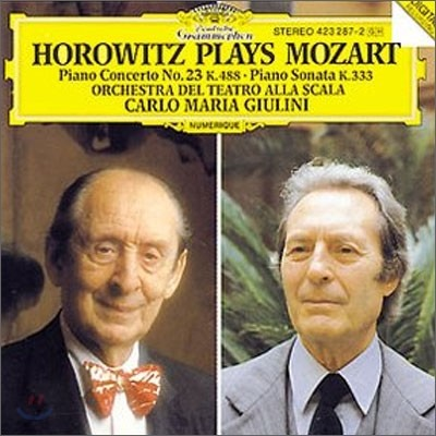 Vladimir Horowitz / Carlo Maria Giulini 모차르트: 피아노 협주곡 23번, 소나타 K333 - 블라디미르 호로비츠, 카를로 마리아 줄리니 (Mozart: Piano Concerto K.288, Piano Sonata)