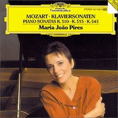 Maria Joao Pires 모차르트 : 피아노 소나타 (Mozart : Piano Sonatas KV 310 333 545) 마리아 호앙 피레스