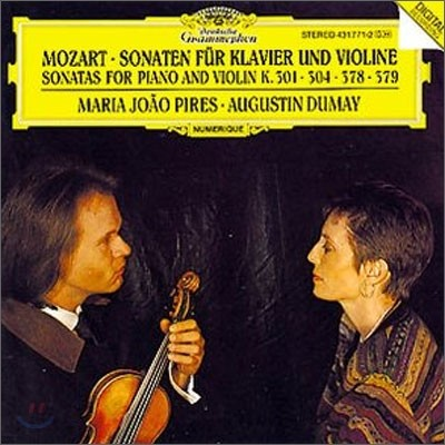 Mozart : Violin Sonatas K.301ㆍK.304ㆍK.378ㆍK.379 : DumayㆍPires